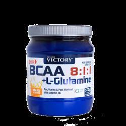 BCAA 8:1:1 + Glutamina (500g)