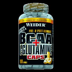 BCAA+L-Glutamine (Cápsulas)